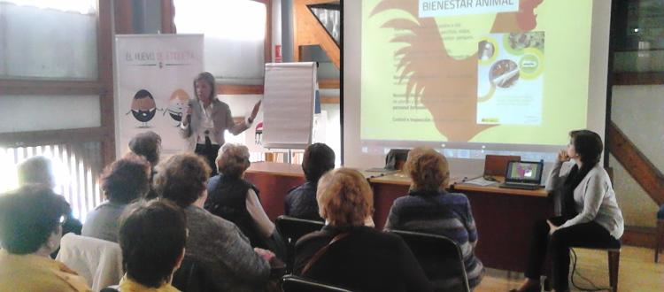 Encuentro con consumidores en Barcelona